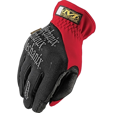 Fastfit Gloves, SAR871, Trekdry, Synthetic Leather, 4/Pack