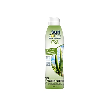 SunZone 25901 Aloe After Sun Continuous Clear Spray, 1 pack of 3