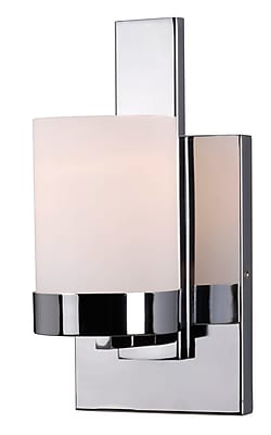 Kenroy Home Eastlake 1 Light Sconce Chrome Finish (93221CH)