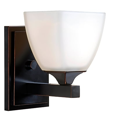 Kenroy Home Helix 1 Light Sconce Oil Rubbed Bronze (93225ORB)