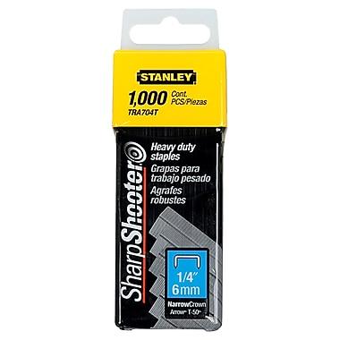 StanleyMD – Agrafes robustes, 1/4 po, 1000/boîte