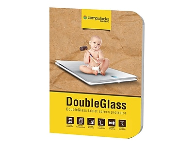 Compulocks Tempered Glass Screen Protector For iPhone, Clear (DGSIPDA) (DGSIPDA )