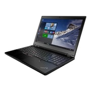 "Lenovo ThinkPad P50 20EN 15.6"" Notebook, Full HD, Intel Core i7 6700HQ, 500GB HDD, 8GB RAM, Windows, Black"