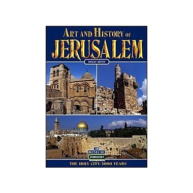The Art and History of Jerusalem (Art & History), New Book (9788880294412)