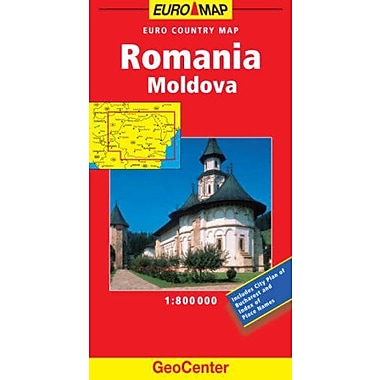 Romania GeoCenter Euro Map (GeoCenter Maps), Used Book (9783829764087)