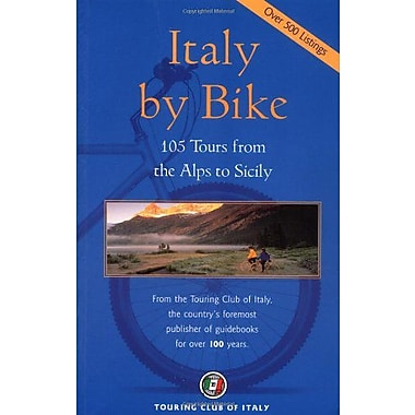 Italy by Bike: 105 Tours from the Alps to Sicily (Dolce Vita), Used Book (9788836529384)