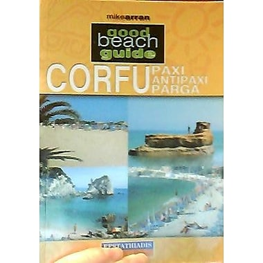 Corfu, Paxi, Antipaxi and Parga (Good Beach Guide), New Book (9789602266106)