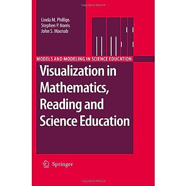 Visualization in Mathematics, Reading and Science Education (Models and Modeling in Science Education), New Book (9789048188154)