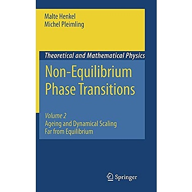 Non-Equilibrium Phase Transitions: Volume 2: Ageing and Dynamical Scaling Far from Equilibrium(Theore, Used Book (9789048128686)