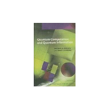Quantum Computation and Quantum Information, New Book (9788175960923)
