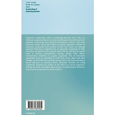 Ecotoxicology of Antifouling Biocides, New Book (9784431857082)