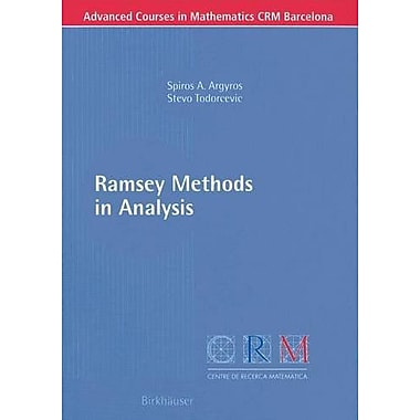 Ramsey Methods in Analysis (Advanced Courses in Mathematics - CRM Barcelona), Used Book (9783764372644)