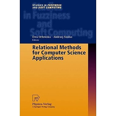 Relational Methods for Computer Science Applications (Studies in Fuzziness and Soft Computing), Used Book (9783790813654)