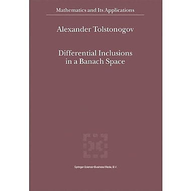 Differential Inclusions in a Banach Space (Mathematics and Its Applications), Used Book (9789048155804)