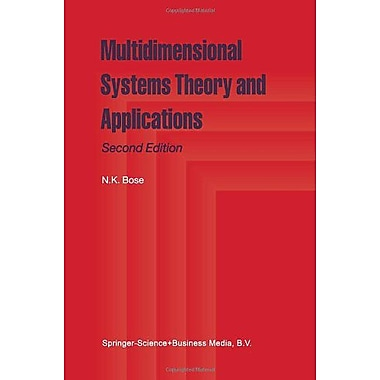 Multidimensional Systems Theory and Applications, Used Book (9789048164240)