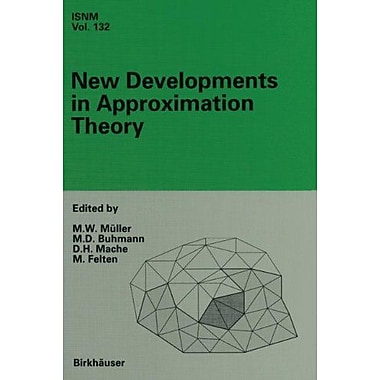 New Developments in Approximation Theory: 2nd International Dortmund Meeting(IDoMAT 98), February 23-, Used Book (9783764361433)