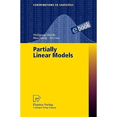 Partially Linear Models (Contributions to Statistics), Used Book (9783790813005)
