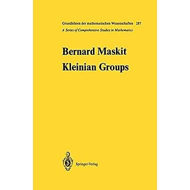 Kleinian Groups (Grundlehren der mathematischen Wissenschaften), Used Book (9783642648786)