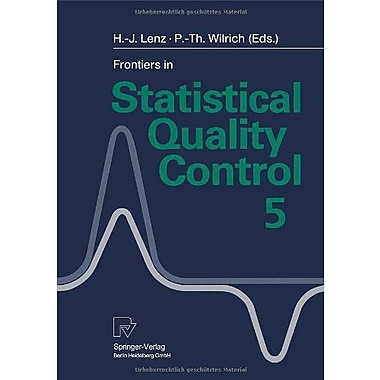 Frontiers in Statistical Quality Control 5, New Book (9783790809848)