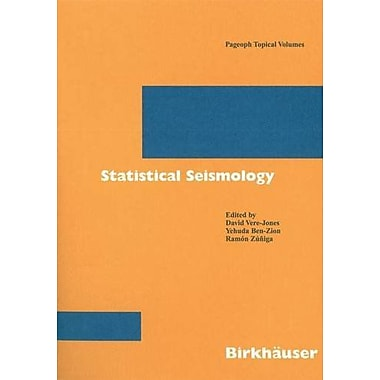 Statistical Seismology (Pageoph Topical Volumes), Used Book (9783764372958)