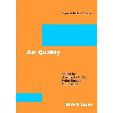 Air Quality (Pageoph Topical Volumes) (9783764370053)
