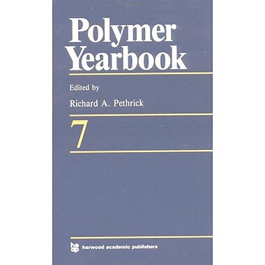 Polymer Yearbook 07 (Vol 7), Used Book (9783718650750)