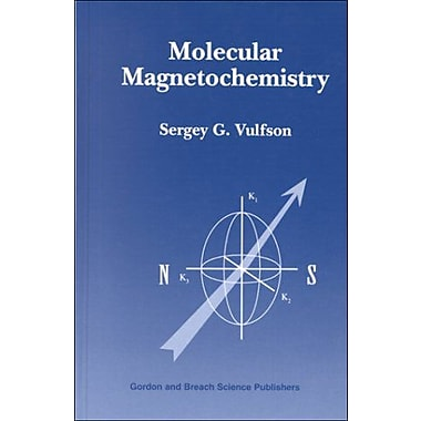Molecular Magnetochemistry (9789056995355)