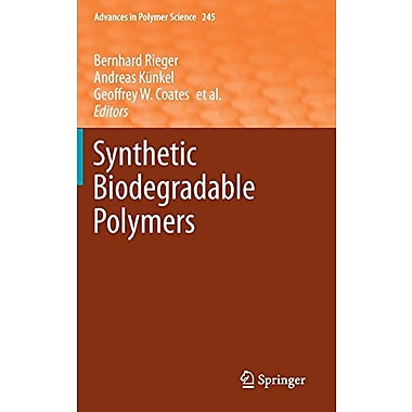 Synthetic Biodegradable Polymers (Advances in Polymer Science), Used Book (9783642271533)