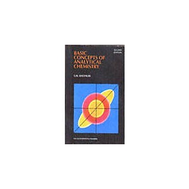 Basic Concepts of Analytical Chemistry, Used Book (9788122420920)