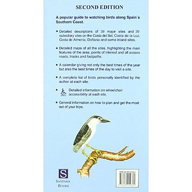 Birdwatching on Spain's Southern Coast, New Book (9788489954380)