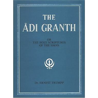 The Adi Granth: Or The Holy Scriptures Of The Sikhs, New Book (9788121502443)