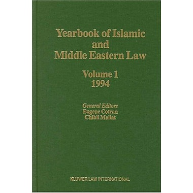 Yearbook of Islamic and Middle Eastern Law, Vol. 1: 1994, Used Book (9789041108838)