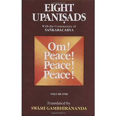Eight Upanishads, with the Commentary of Sankaracarya, Vol. I, New Book (9788175050167)