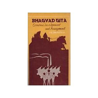 Bhagavad-Gita: Economic Development and Management (9788170171133)