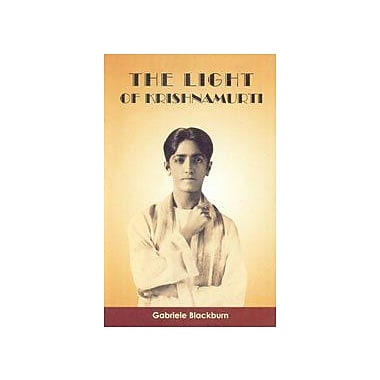 Light of Krishnamurti, New Book (9788173031915)