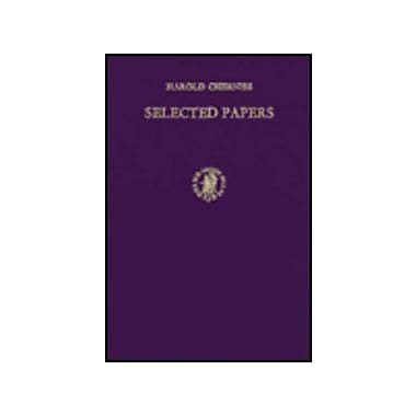 Selected Papers, Used Book (9789004052352)