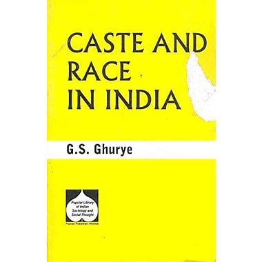 Caste and Race in India, New Book (9788171542055)