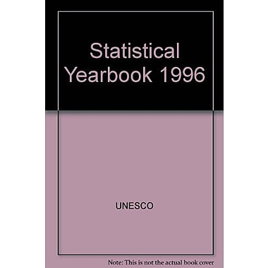 Statistical Yearbook 1996, Used Book (9789230033446)