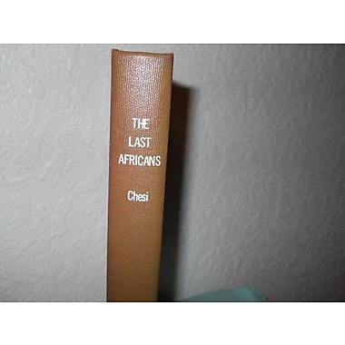 Last Africans, New Book (9783853990025)