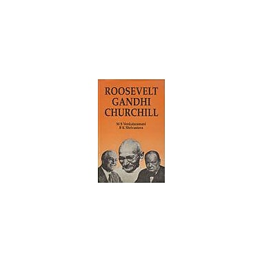 Roosevelt, Gandhi, Churchill (9788170270652)