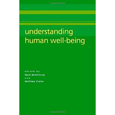 Understanding Human Well-Being, Used Book (9789280811308)