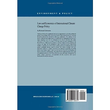 Law and Economics of International Climate Change Policy (Environment & Policy) (9789048156474)
