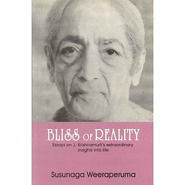 Bliss of Reality, Used Book (9788120814233)