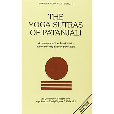 Yoga Sutras of Patanjali: An Analysis of the Sanskrit with Accompanying English Translation(Studies in, New Book (9788170302445)
