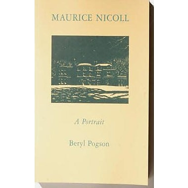 Maurice Nicoll, A Portrait, New Book (9789072395252)
