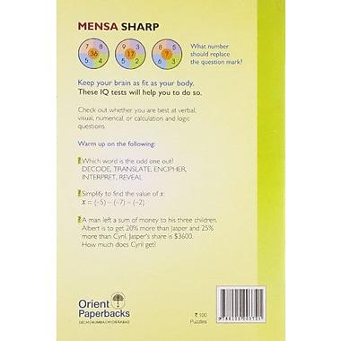 IQ Tests to Keep You Sharp, Used Book (9788122203721)