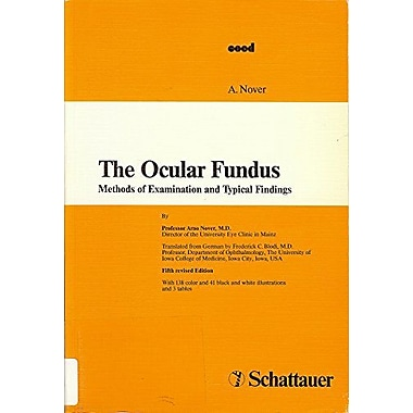 The Ocular Fundus, New Book (9783794512089)