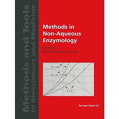 Methods in Non-Aqueous Enzymology, Used Book (9783764361099)