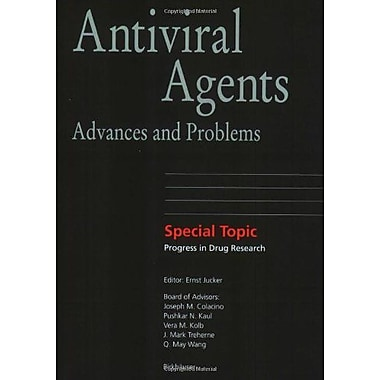 Antiviral Agents: Advances and Problems (Progress in Drug Research), New Book (9783764365479)