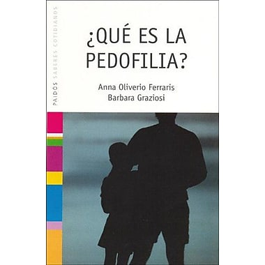 Que Es La Pedofilia? (Spanish Edition), Used Book (9788449316371)